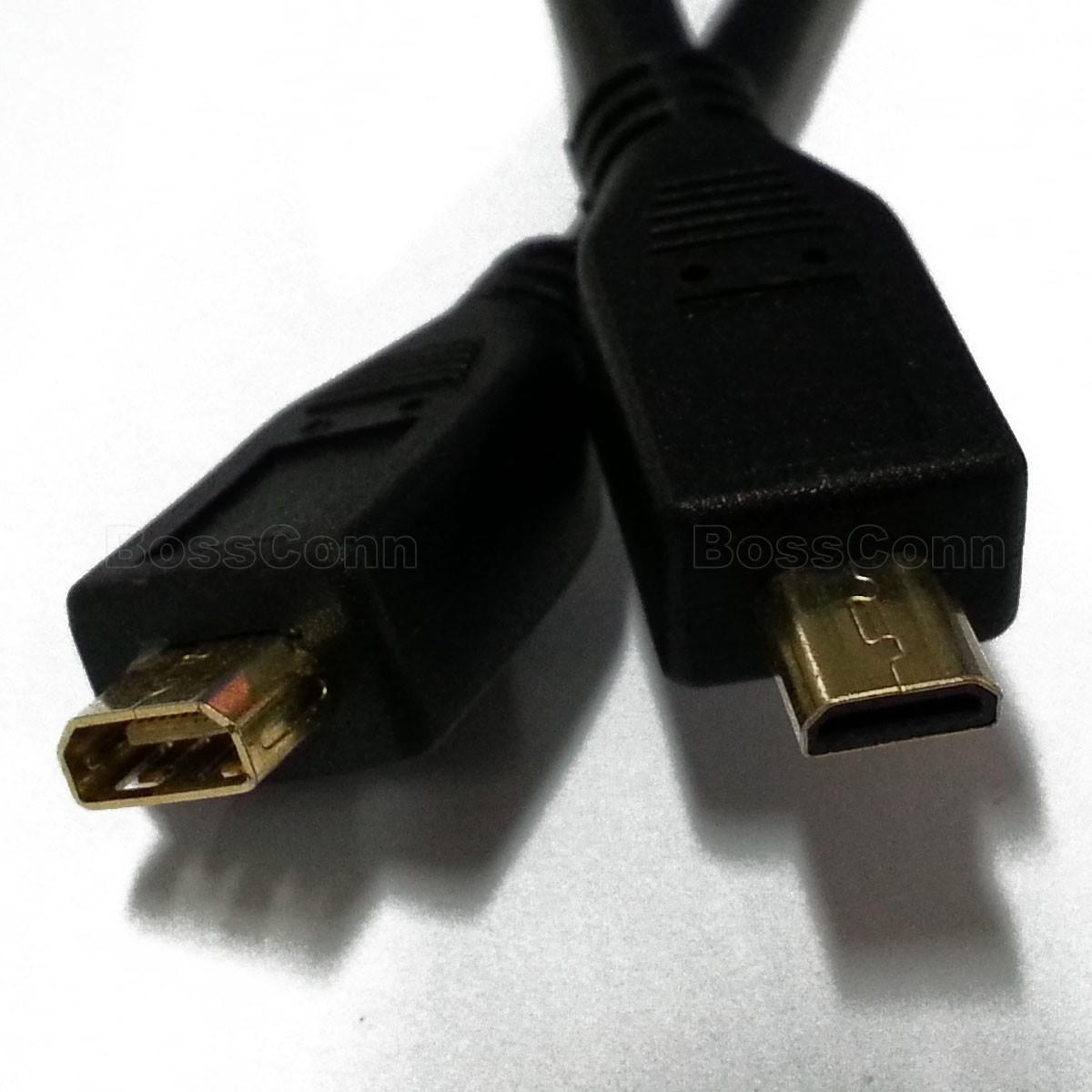 Micro HDMI Male to Female Cable