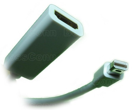 Mini DisplayPort to HDMI Female Adapter