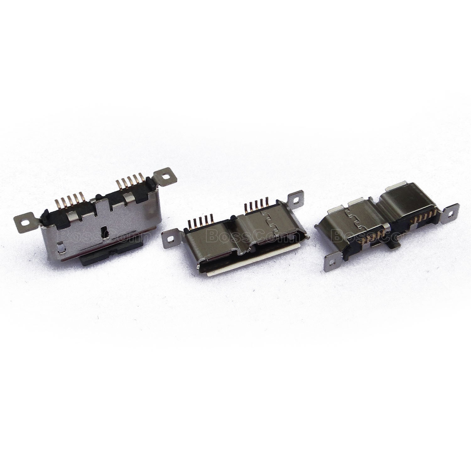 USB 3.0 Micro B Female Connector, Vertical Type