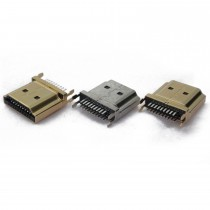 HDMI A Male, Clamp Type