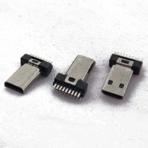 HDMI D Type, Male Connector, Clamp Board Type