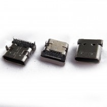 USB 3.1 Type C Female, Front DIP, Rear SMT