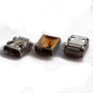HDMI D Type Female Connector, SMT Type. All SMT For OuterShell